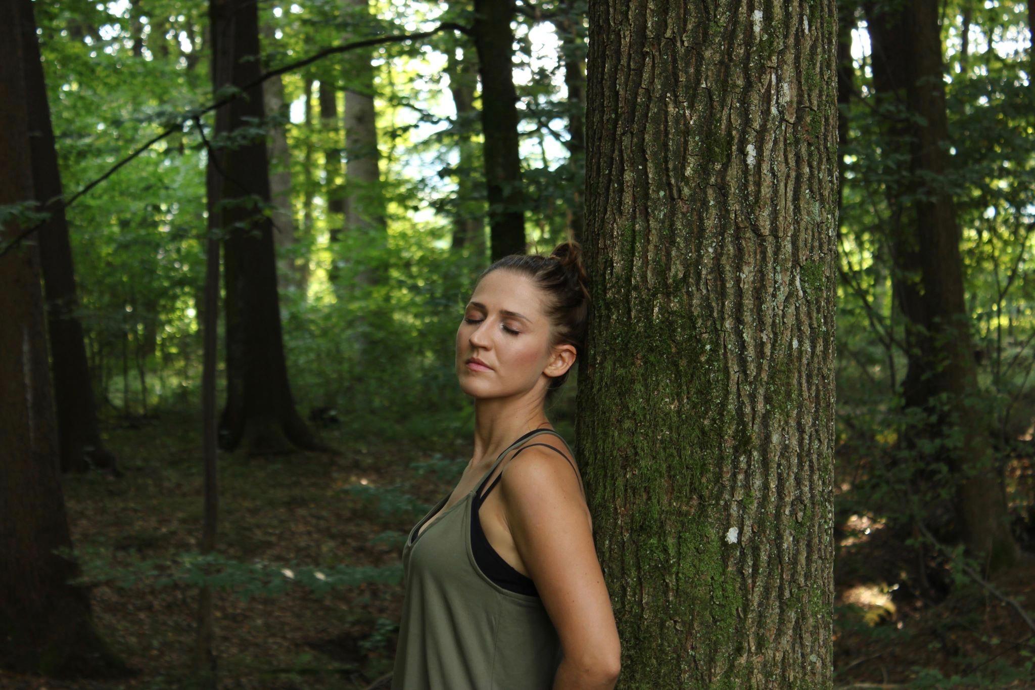 Waldbaden zeitfinden.yoga